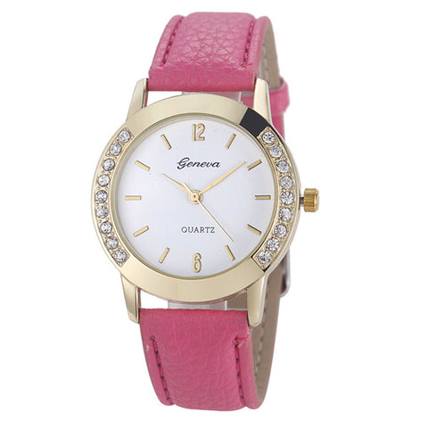 Victoria Leather Strap Watch, watch, WantYouNeed, WantYouNeed
