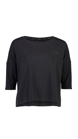 ELLY 3/4 SLEEVE - BLACK