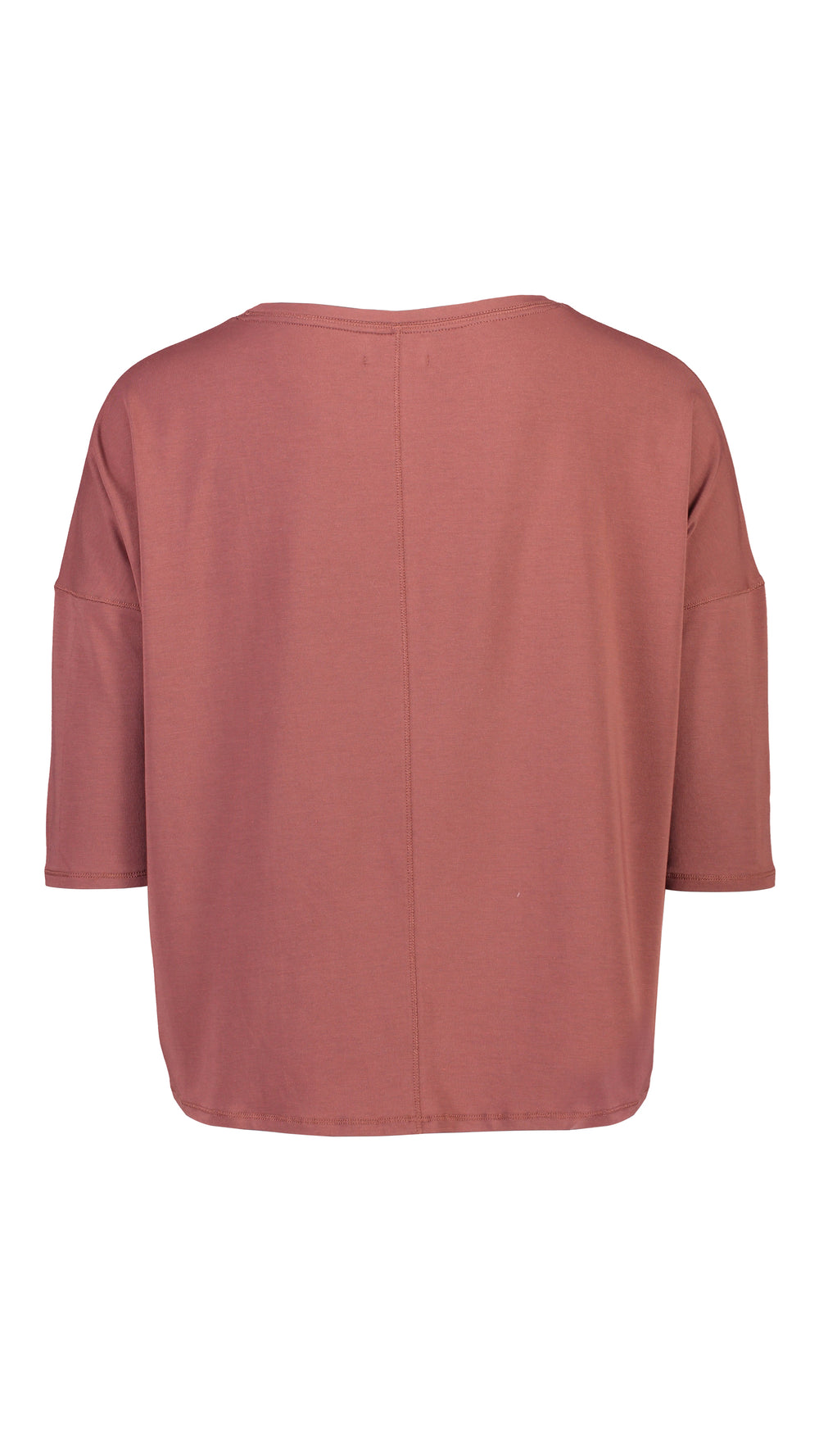 ELLY 3/4 SLEEVE - TERRACOTTA