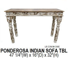 Ponderosa Indian Sofa Table