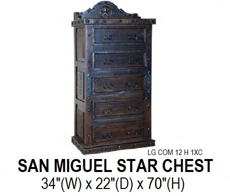 San Miguel Star Chest