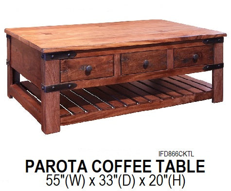Parota Coffee Table