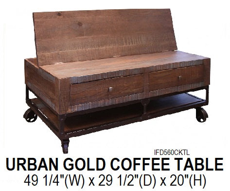 Urban Gold Coffee Table