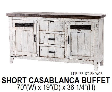 Short Casablanca Buffet