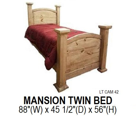 Mansion Twin Bed