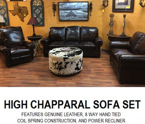 High Chaparral Power Sofa Set