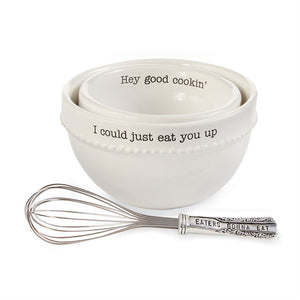 Mixing Bowl and Whisk Set