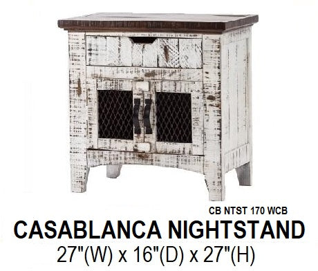 Casablanca Nightstand