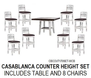 Casablance Counter Height Dining Set