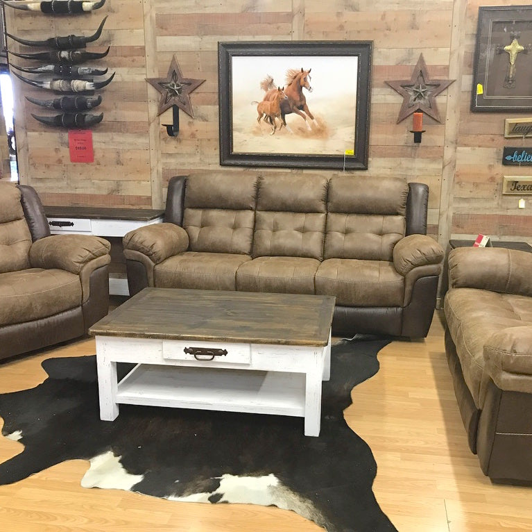Bonanza 2-Tone Sofa Set