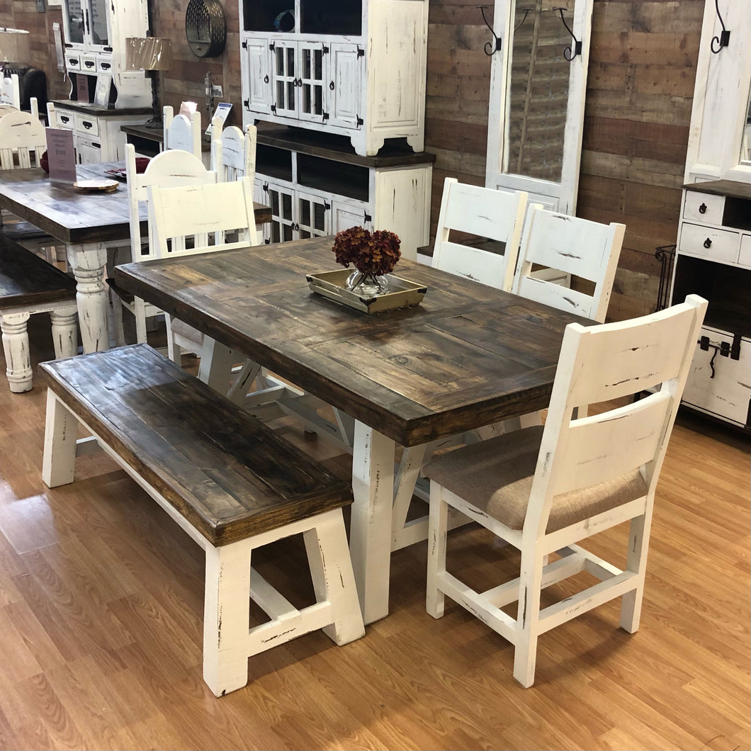 Branson Trestle Dining Set