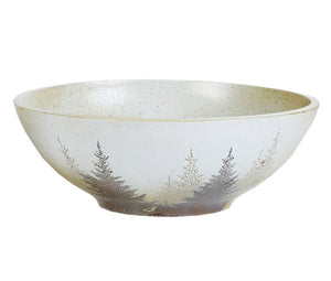 Pine Tree Serving Bowl