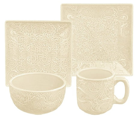 Cream Savannah Dish Set