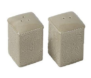 Taupe Salt and Pepper Shaker Set