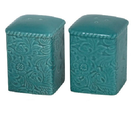 Turquoise Savannah Salt and Pepper Shaker