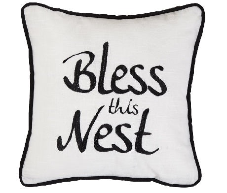 Bless This Nest Pillow