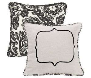 Matelasse Embroidered Pillow