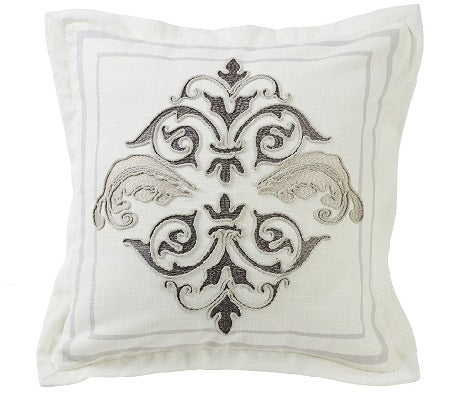 Charlotte Square Decorative Pillow