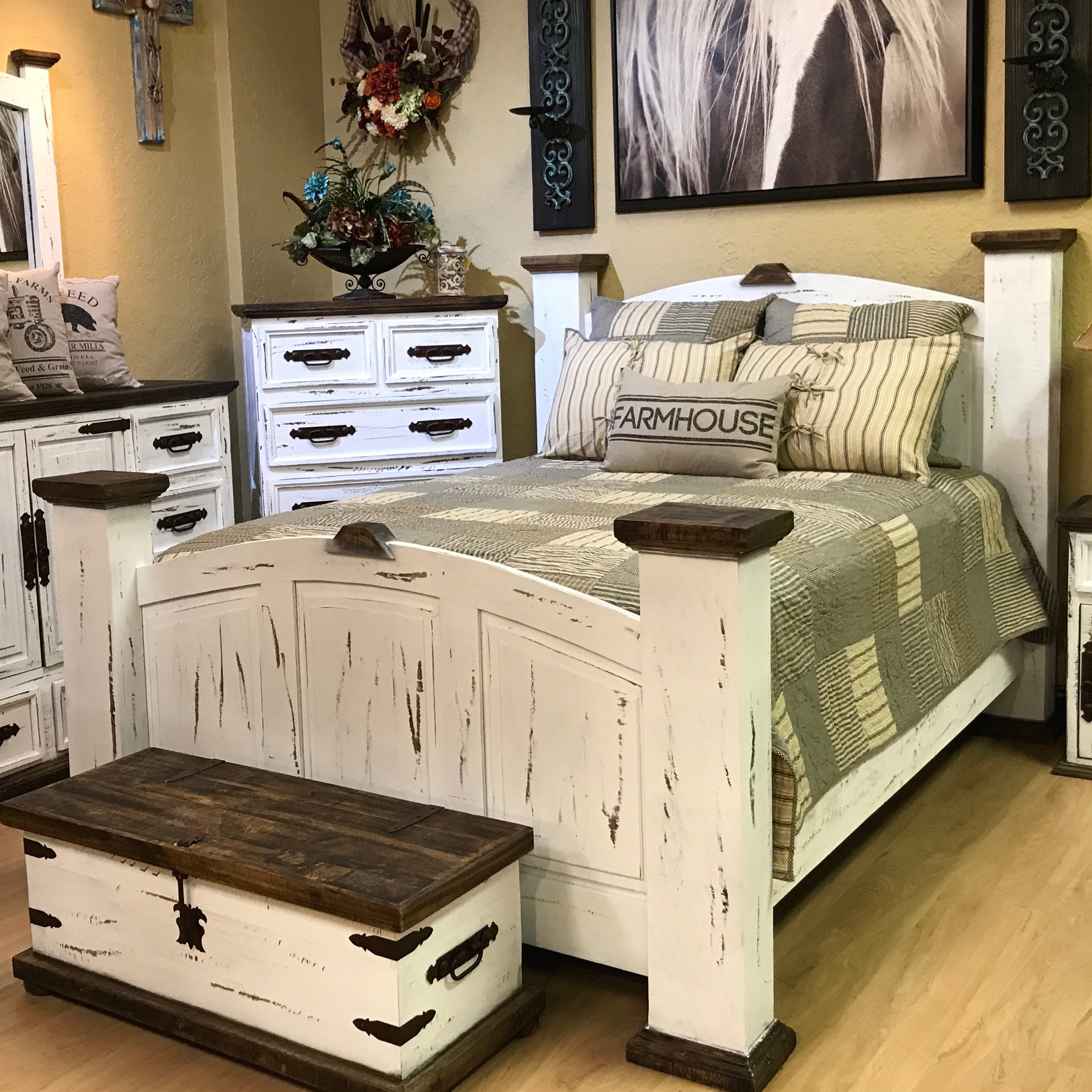 Gatlinburg Bedroom Set Rustic Furniture Depot