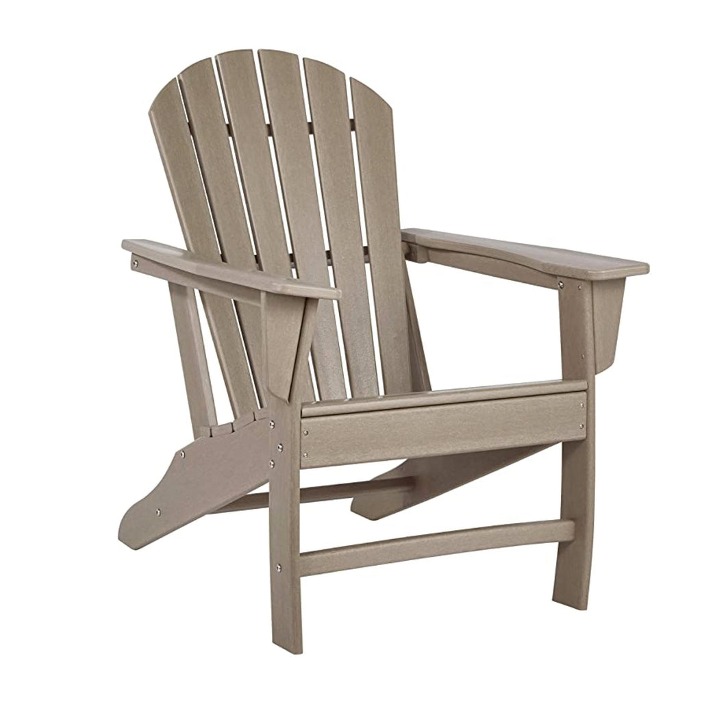 Grey-Brown Adirondack Outdoor Chair