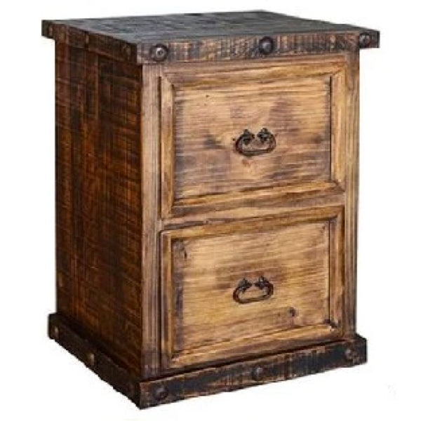 Ponderosa 2 Drawer Filing Cabinet
