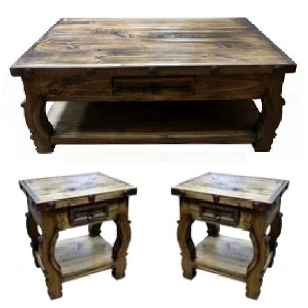 Oxbow Coffee Table Set
