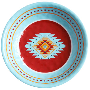 Southwest Melamine Serving Bowl