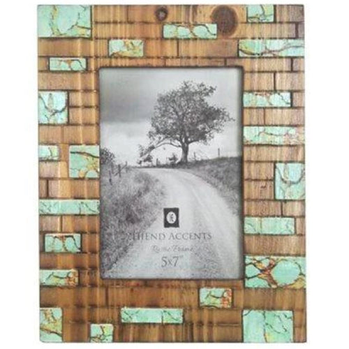 Turquoise Inlay Picture Frame