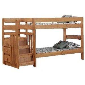 Twin/Twin Staircase Bunkbed
