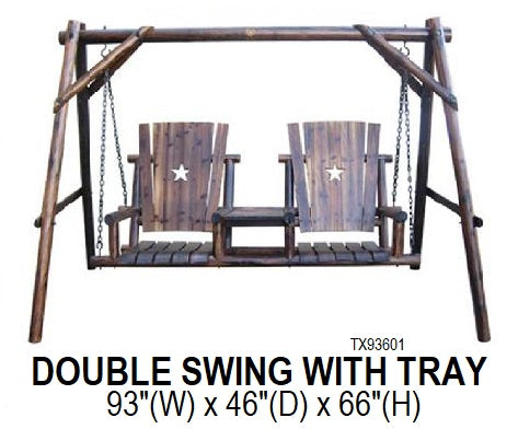 Double Swing with Tray