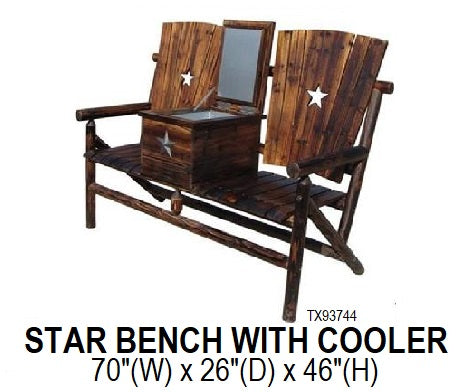 Star Bench with Cooler