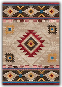Natural Whiskey River Rug