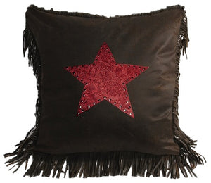 Red Star Pillow