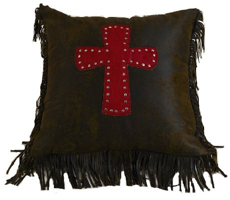 Red Cross Cheyenne Pillow