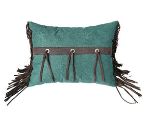 Turquoise Cheyenne Rectangle Pillow