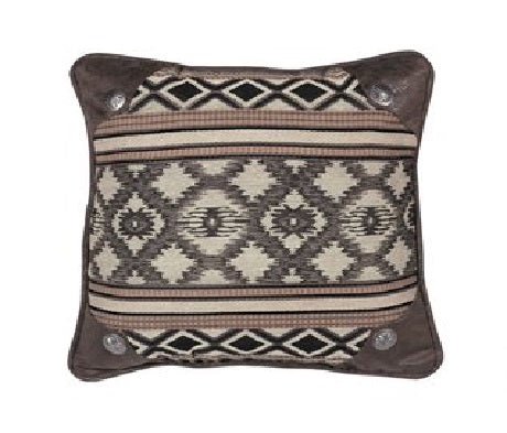 Tuscon Pillow with Conchos