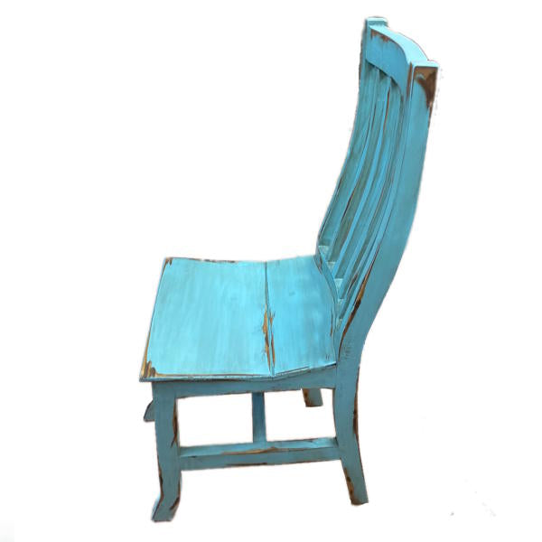 Antique Turquoise Santa Rita Chair