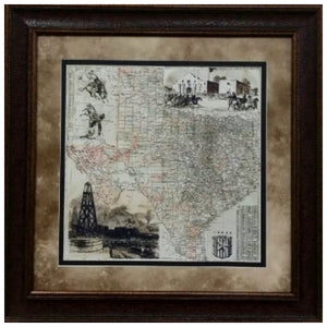 Antique Map of Texas
