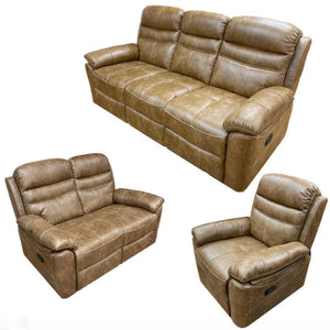 Bandera Reclining Sofa Set - Free Recliner Offer