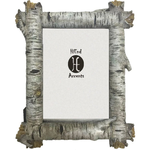 Birch Log Picture Frame
