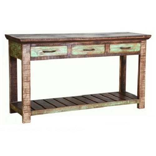 Cabana 3 Drawer Sofa Table