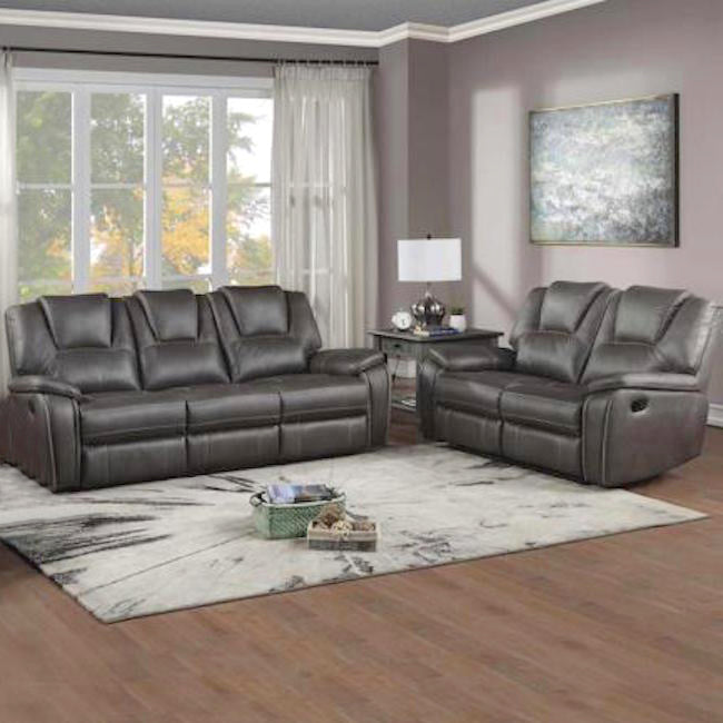 Charcoal Reclining Doorbuster Set