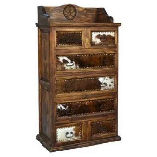 Cowhide Chest