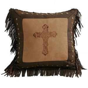 Square Cross Pillow