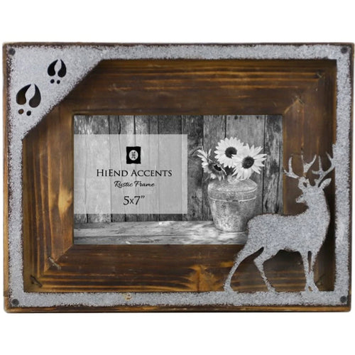 Deer Cutout Picture Frame