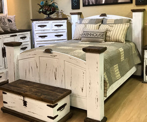 Farmhouse Comforter Set Rustic Furniture Depot