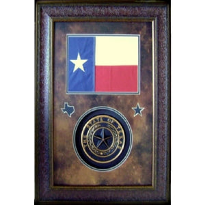 Flag and Texas Seal