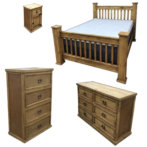 Medium Lodge Bedroom Set