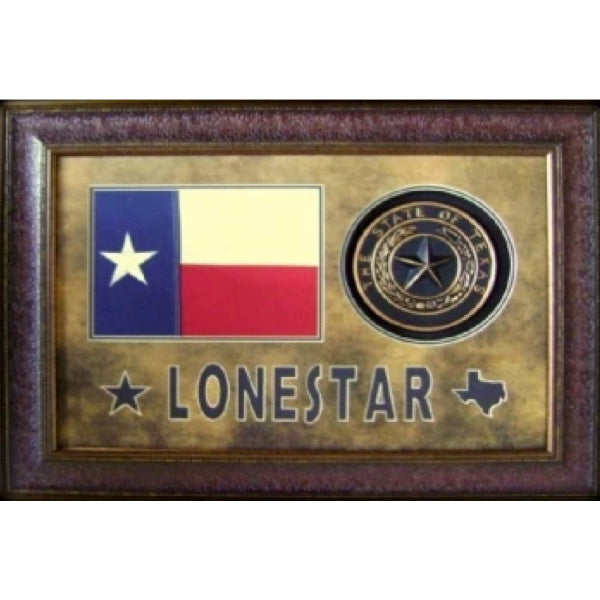 Lonestar Flag and Texas Seal