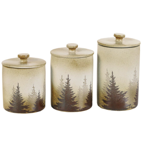 Pine Tree Canister Set